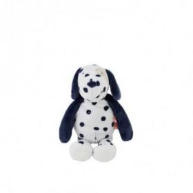 Accueil Noukies Doudou Noukies Chien Blanc Pois Bleu Taille S Pantin - Aston & Jack