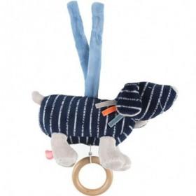 Accueil Noukies Doudou Noukies Chien Bleu mini Musical - Jack