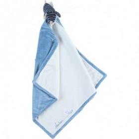 Accueil Noukies Doudou Noukies Chien Bleu ma premiére couverture Plat - Aston & Jack