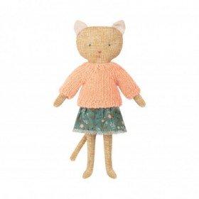 Accueil Maileg doudou Maileg Chat Jaune Kitten Pantin