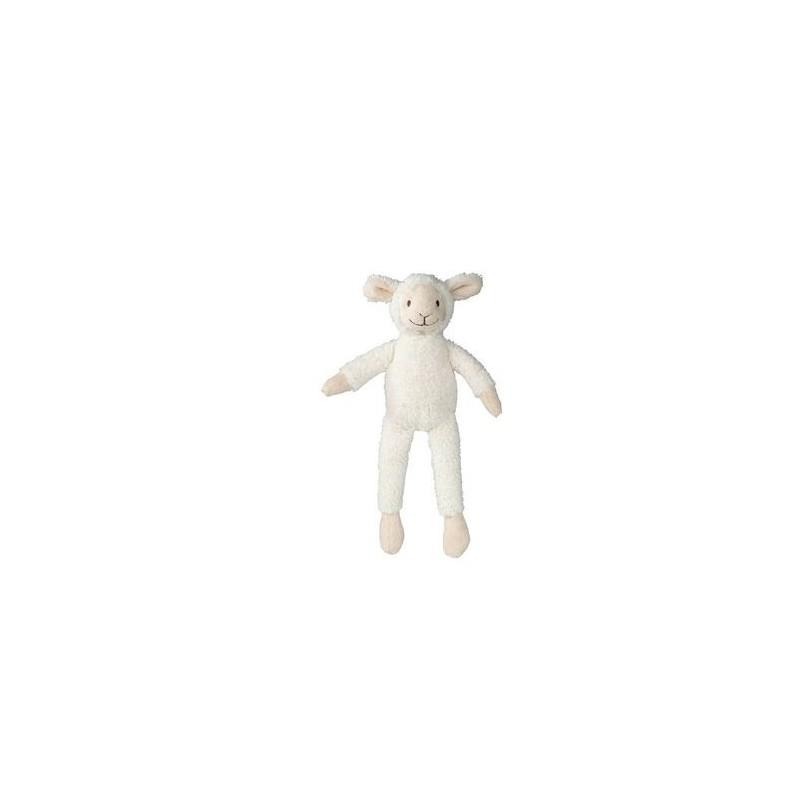 Doudou Happy Horse Mouton Blanc  Pantin - 20 cm Wolly