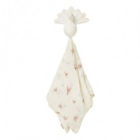 Accueil Camcam Doudou camcam Paon Rose Plat - 50 x 50 cm Windflower