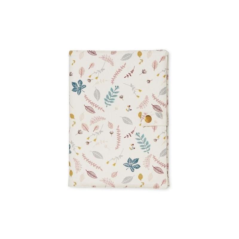 Accueil Camcam Camcam Rose Carnet de santé - 21 x 15 cm Leaves Rose