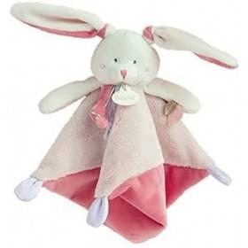 Doudou babynat lapin Rose...