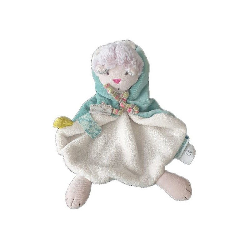 Accueil Moulin Roty Doudou Moulin Roty Chat Vert Plat - 22 cm Les Pachats
