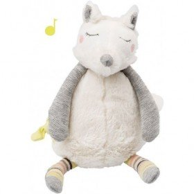 Accueil Moulin Roty Doudou Moulin Roty Chien Blanc Oko Musical - 27 cm Les petits Dodos
