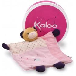 Accueil Kaloo Doudou Kaloo Ours joli Marionnette - Petite Rose