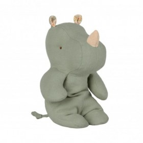 Accueil Maileg doudou Maileg Rhinoceros Vert Safari Friends Pantin