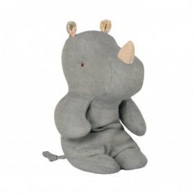 Accueil Maileg doudou Maileg Rhinoceros Bleu Safari Friends Pantin