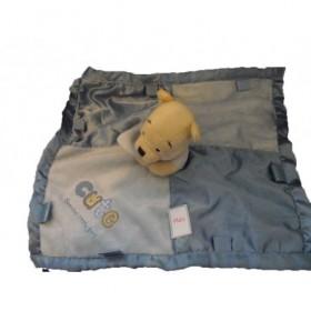 Accueil Disney doudou Disney Disney Bleu cute special boy Winnie l'ourson Plat