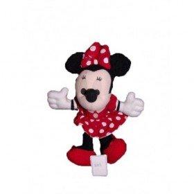 Accueil Disney doudou Disney Souris Rouge robe rouge a pois 23cms Minnie Pantin