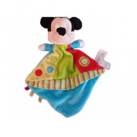 Accueil Disney doudou Disney Personnage Bleu circus rouge jaune vert Mickey Plat