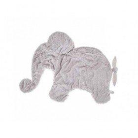 Accueil Dimpel doudou Dimpel Elephant Gris clair Oscar Couverture