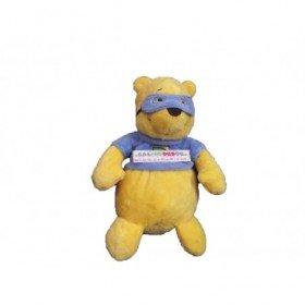 Accueil Disney doudou Disney Ours Jaune pull et masque bleu 23cms Winnie l'ourson Pantin