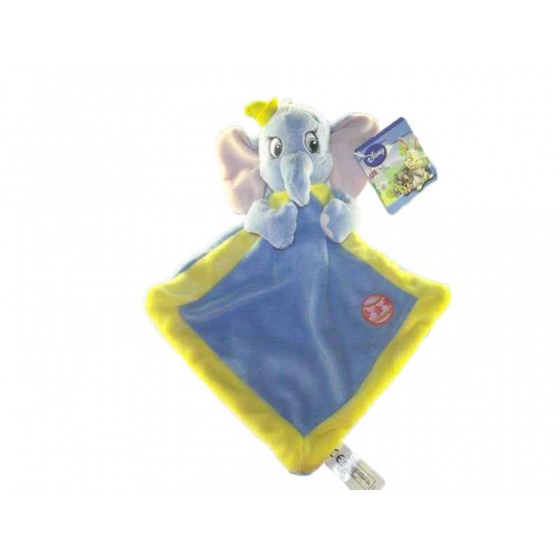 Accueil Disney doudou Disney Elephant Bleu ballon orange Dumbo Plat