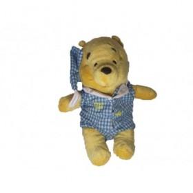 Accueil Disney doudou Disney Personnage Bleu pyjama vichy carreau Winnie l'ourson Plat