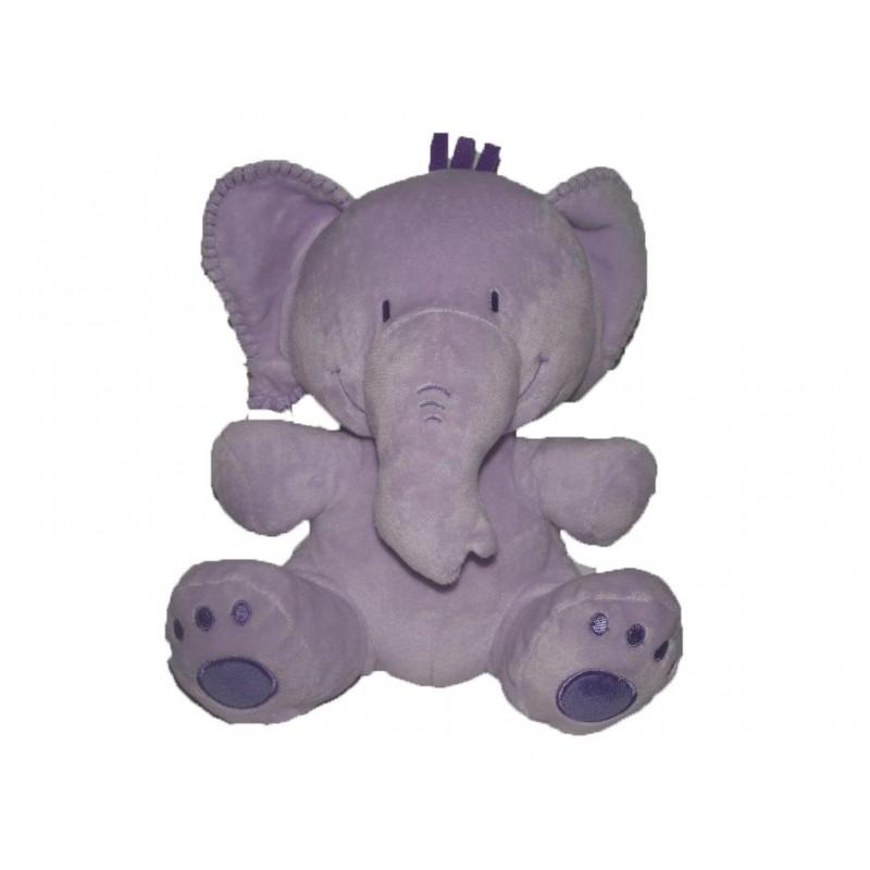 Accueil Disney doudou Disney Elephant Violet lumpy Les Amis de Winnie Pantin
