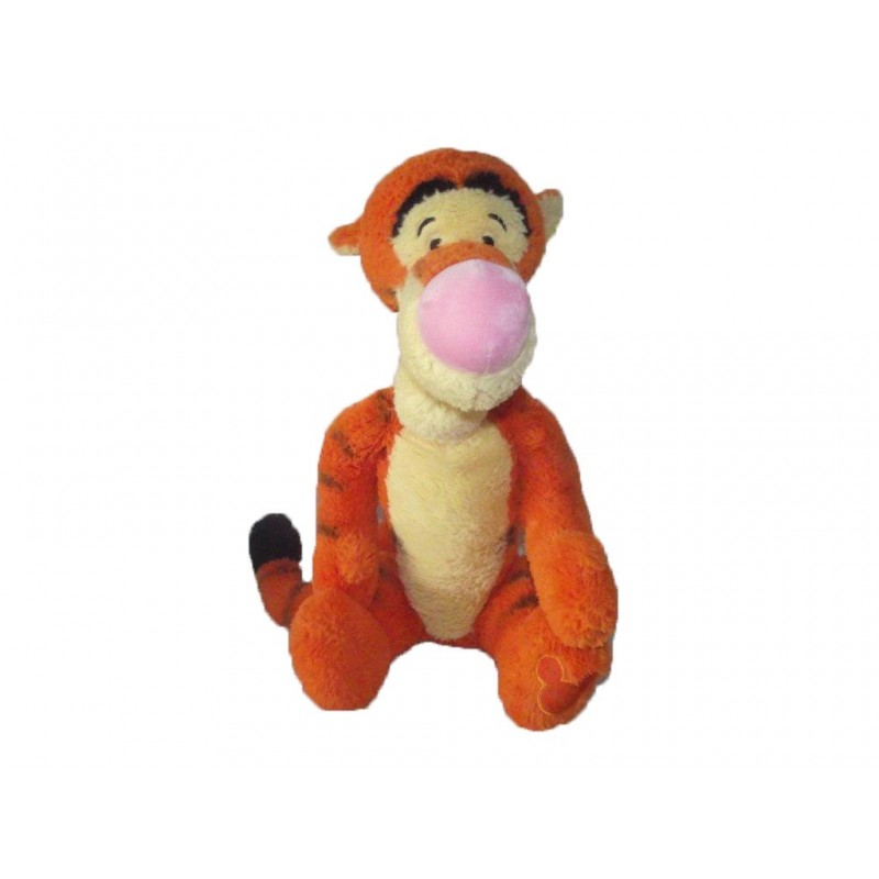 Accueil Disney doudou Disney Personnage Orange tigrou assis 45cms longue queue Les Amis de Winnie Pantin
