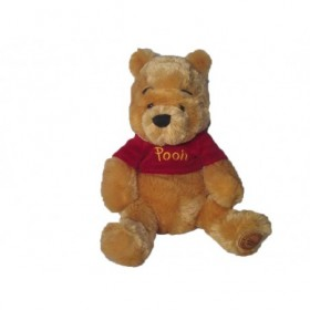 Accueil Disney doudou Disney ours Jaune pull rouge Winnie l'ourson Pantin