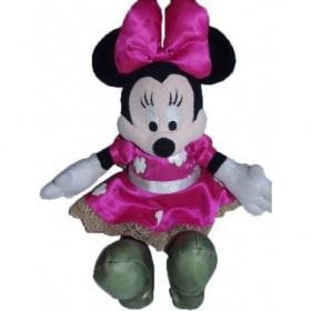 Accueil Disney doudou Disney Personnage Rose robe nuage blanc Minnie Pantin