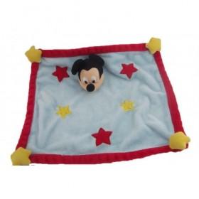 Accueil Disney doudou Disney Personnage Bleu Etoile rouge et jaune Mickey Plat