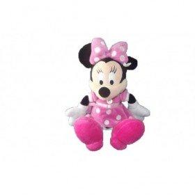 Accueil Disney doudou Disney Personnage Rose robe pois blanc 25cms Minnie Pantin