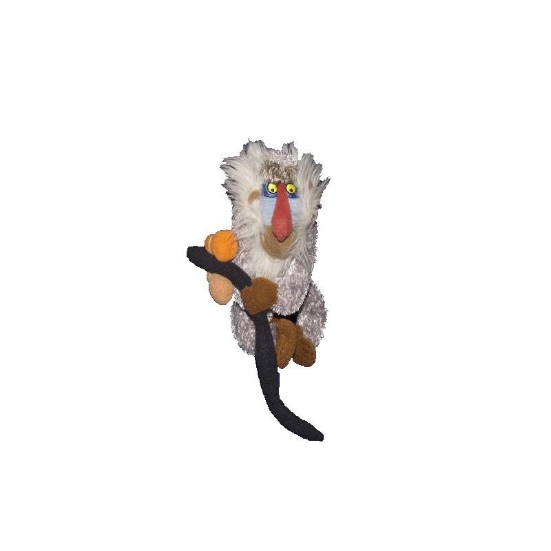 Accueil Disney doudou Disney Singe Gris Rafiki 17cms Le Roi lion Pantin
