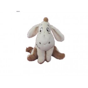 Accueil Disney doudou Disney Ane Marron bourriquet assis 18cms Les Amis de Winnie Pantin