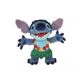 Accueil Disney doudou Disney Personnage Bleu Aloha hawai 25cms Lilo & Stitch Pantin