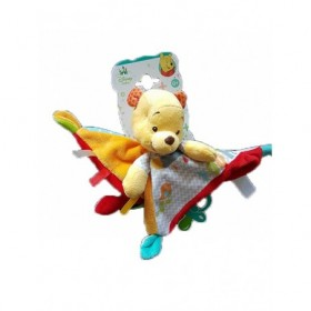 Accueil Disney doudou Disney Personnage Rouge oiseau wonderland Winnie l'ourson Attache tetine