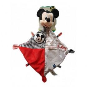 Accueil Disney doudou Disney Personnage Rouge nuage etiquette etoile Mickey Plat