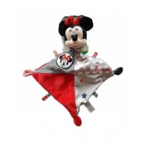 Accueil Disney doudou Disney Personnage Rouge nuage etiquette etoile Minnie Plat