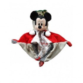 Accueil Disney doudou Disney Nuage Rouge nuage 4 nœuds rayure Mickey Plat