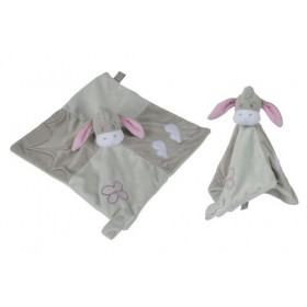 Accueil Disney doudou Disney Bourriquet Gris Rose Papillon Nuage Floopy Pantin