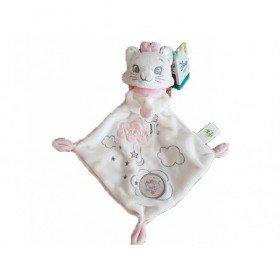 Accueil Disney doudou Disney Chat Blanc Big Dream Mouchoir nuage rose Plat