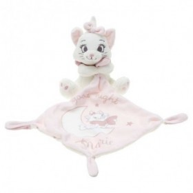 Accueil Disney doudou Disney Chat Blanc Aristochat Good Night Mouchoir Rose Plat