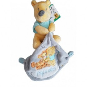 Accueil Disney doudou Disney Winnie Gris Hugs & Wishes Pantin