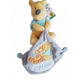 Accueil Disney doudou Disney Winnie Gris Hugs & Wishes Pantin