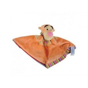 Accueil Disney doudou Disney Tigre Orange Tigrou Dos Rayee Winnie L'ourson Plat